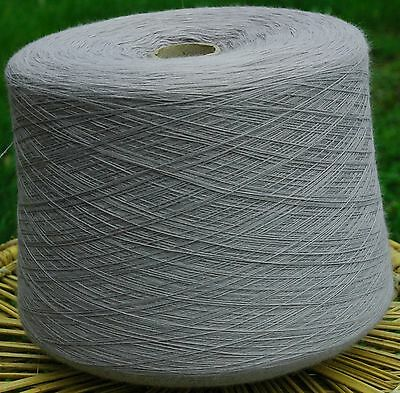Knitting Machine Yarn Top Quality 3/30s 900g Acrylic Light Grey IND20.05