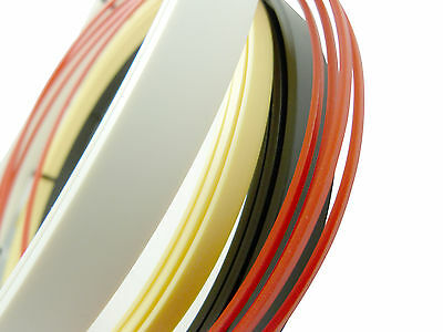 Incudo™ Guitar Binding Purfling Edging Strips - Celluloid & Plastic, Many Sizes