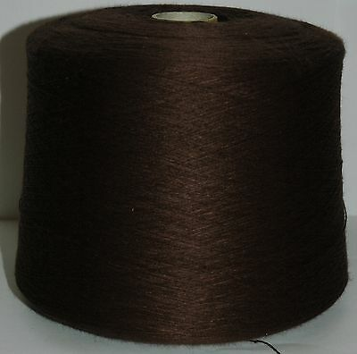 Knitting Machine Yarn Top Quality 3/30s 1.5 Kilos Acrylic Brown IND20.06