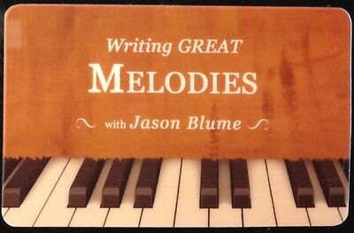 Songwriting: Writing Great Melodies audio download by Jason Blume