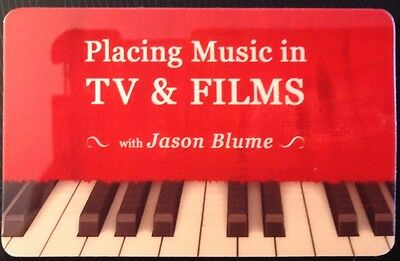 Songwriting: Placing Music in TV/Film by Jason Blume audio download