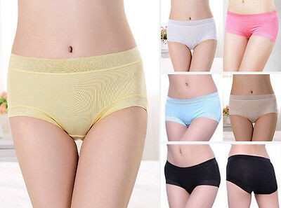 PACKS Womens Bamboo Panties, Underpants, Undies, Briefs in 6 colours, one size.
