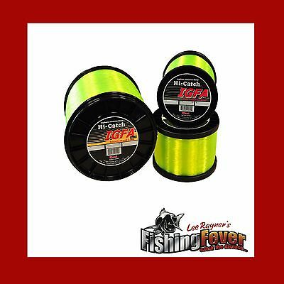 Momoi Hi- Catch High Vis Yellow Game Fishing Line 10 - 24kg 1000m FISHING FEVER