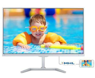 "Philips 246E7QDSW PLS 23,6"" Bianco Full Hd 246e7qdsw 00 Monitor Pc"