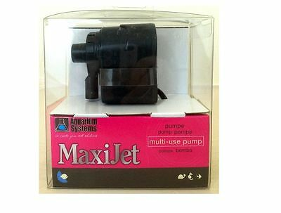 Aquarium Systems Maxijet Maxi Jet Pump Submersible Flow Fish Tank Reef Marine