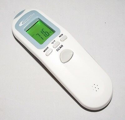 Syner-Med Infared Veratemp Non Contact Thermometer Accusystems Missing Cover