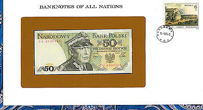 Banknotes of All Nations Poland 1979 50 Zlotych P142b UNC Prefix CU