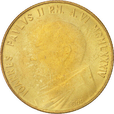 [#46894] VATICAN CITY, John Paul II, 200 Lire, 1984, KM:181
