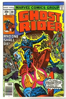 GHOST RIDER #30 And One Shall Die! Doctor Strange! Marvel Comic Book ~ VF/NM