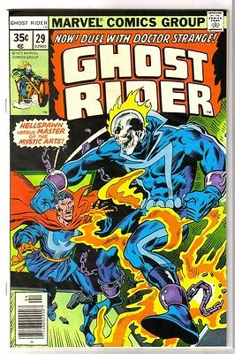 GHOST RIDER #29 Duel with Doctor Strange! Marvel Comic Book ~ NM-