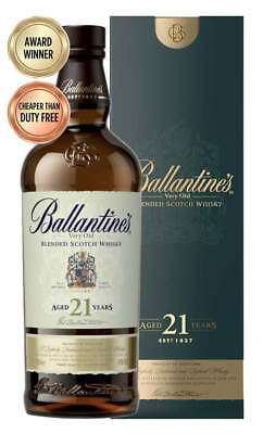 Ballantine's 21YO Scotch Whisky 700ml  (Boxed)