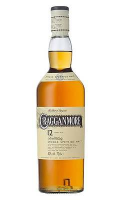 Cragganmore 12YO Single Malt Scotch Whisky 700ml  (Boxed)