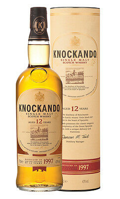 Knockando 12YO Single Malt Scotch Whisky 700ml (Boxed)