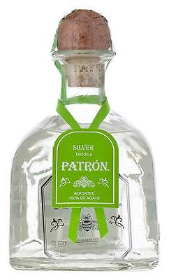 Patron Silver Mexican Tequila 750ml  (Boxed)