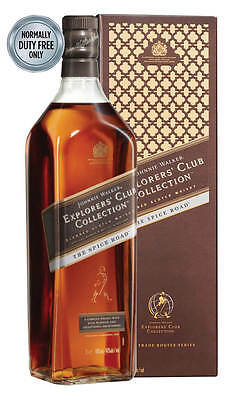Johnnie Walker The Spice Road Explorers' Club Collection (1 Litre Boxed)