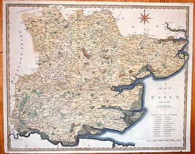A Map of the English County Essex.  c1805