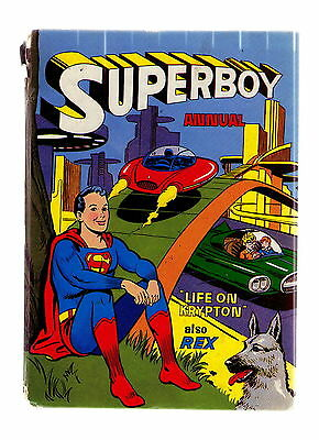 The Superboy Annual 1963-64  / Atlas Good+ / Unclipped / Rex The Wonder Dog.