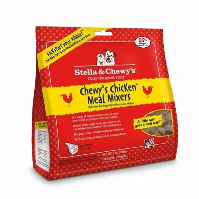 Stella and Chewy's Chicken Meal Mixer Dog Food 95% Meat 8 oz