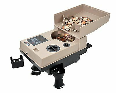 Cassida Heavy Duty Coin Counter Off-Sorter CASSIDA-C500 Up to 2,200 Coins/Min