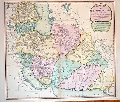 The Empire of Persia. Laurie & Whittle c1802
