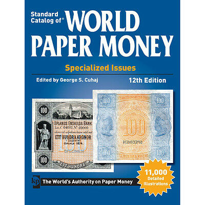 [#1219] Book, Billets, World Paper, Specialized Issues, 12th Edition,...