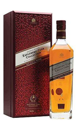 Johnnie Walker The Royal Route Explorers' Club Collection 750ml  (Boxed)