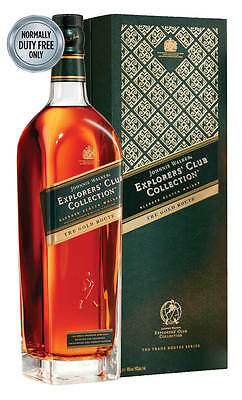 Johnnie Walker Gold Route Explorers' Club Collection 1 Litre (Boxed)