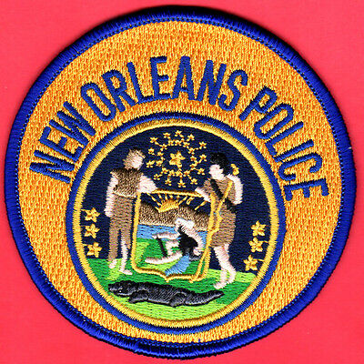 New Orleans Louisiana Police Shoulder Patch    FREE USA SHIPPING