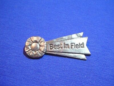 Best In Field pewter pin lure coursing sighthound whippet greyhound saluki CAC