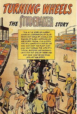 Turning Wheels the Studebaker Story - Comic Book - Advertising