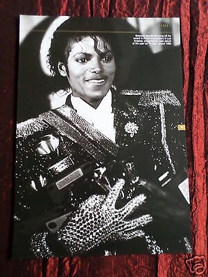 Michael Jackson - Music Artist -1 Page Picture - Clipping / Cutting -#10