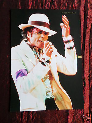 Michael Jackson - Music Artist -1 Page Picture - Clipping / Cutting -#7