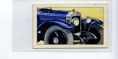 Cigarette Trade Cards G Phillips Motor Cars At A Glance