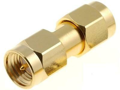 SMA2071A13G50 Coupler SMA male both sides straight 50Ω teflon gold