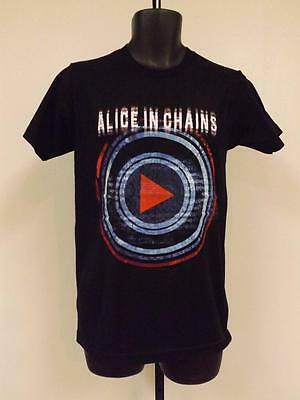 New Alice in Chains Mens Adult SIZE S-M- L-XL-2XL Concert Band T-SHIRT