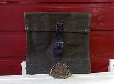 Authentic Canvas Cover Soviet Army Soldier Sapper Spade, Shovel Case,1940-55