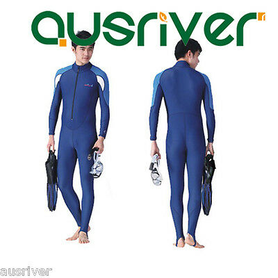 Men Women Full Scuba & Snorkeling Surf Diving Suit Wetsuit Float Suit Sailing