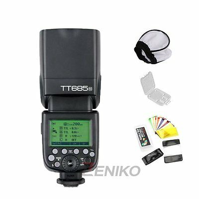 Godox TT685N 2.4G HSS 1/8000s i-TTL GN60 Wireless Speedlite Flash for Nikon