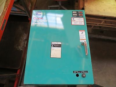 ONAN Cummins Transfer Switch OTCU 277V/480V  70Amps