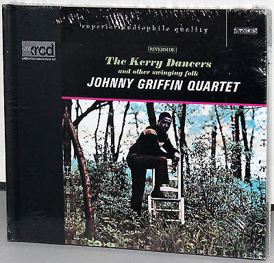 XRCD CD VICJ-60102: Johnny Griffin Quartet - The Kerry Dancers OOP Japan 1997 SS
