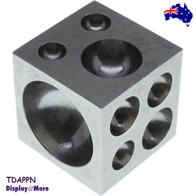 50mm Solid Steel Doming Dapping Die Block-Jewellery Making Tool | AUSSIE Seller