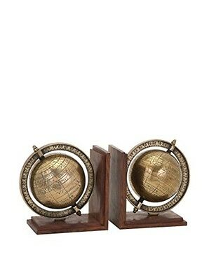 Imax Beth Kushnick Globe Bookends-Set of 2 81418-2 Bookend NEW