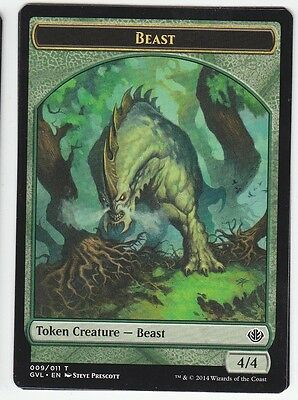 MAGIC Beast Token 4/4