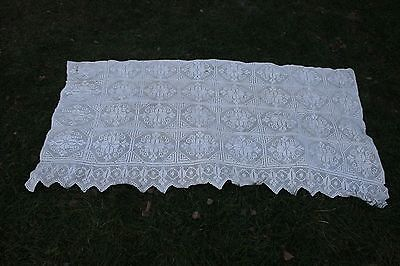 Vintage  hand-woven bedspreads, table or curtain 6