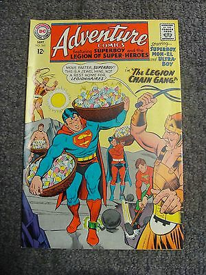 "Adventure Comics #360 (1967) ""The Legion Chain Gang!"" * DC Comics *"