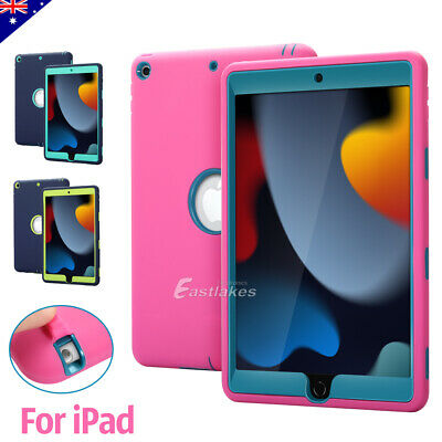 Apple iPad 2 3 4 5 6 mini Air Kids Shockproof Case Heavy Duty Protective Cover