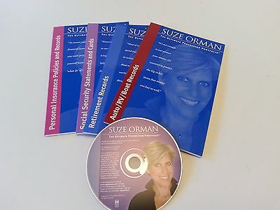 Suze Orman Ultimate Protection Portfolio Retirement Social Security books CD