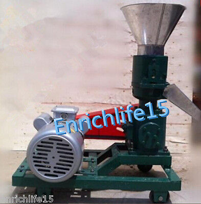 3KW 120 Model Pellet Mill Machine, Feed Pellet Mill Machine With Motor