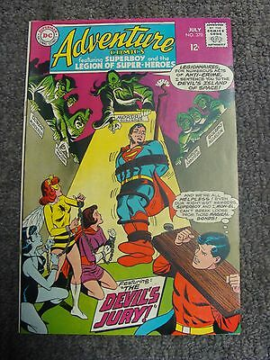 "Adventure Comics #370 (1968) ""The Devil's Jury!"" * DC Comics *"