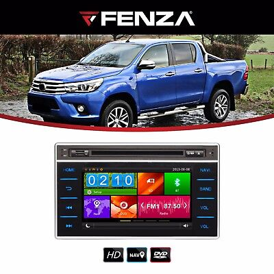 Car Radio Touch Factory Style For 2016-2017 Toyota Hilux Revo (Usb, Gps)